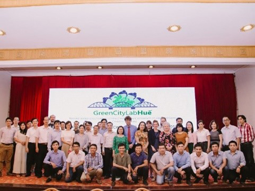Project start: Kick off Event in Huế