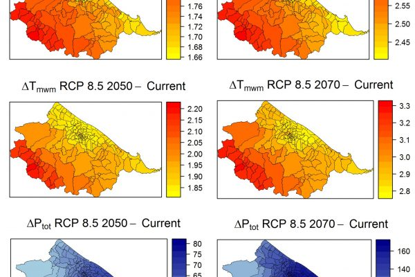 Future climate conditions under RCP8.5